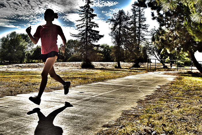 The Runner. Photo credit: Benjamin Olson