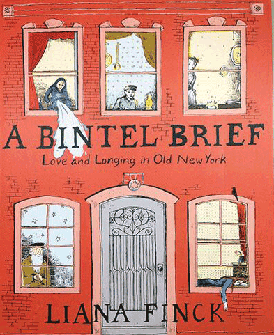 Book jacket for A Bintle Brief: Love and Longing in Old New York by Liana Finck