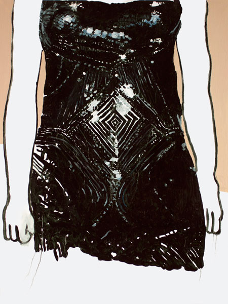I thought I saw the whole universe (Scarlett Johansson in Versace)