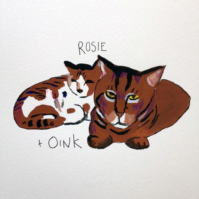 Rosie & Oink