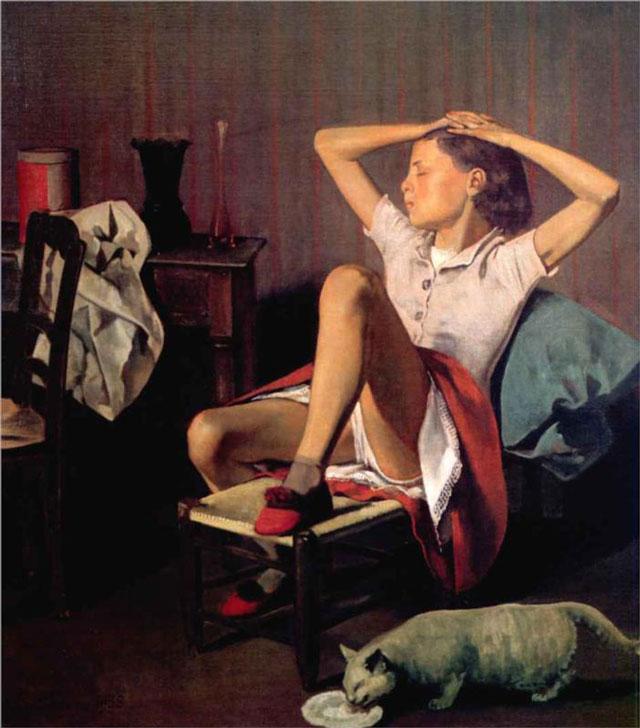 thérèse-dreaming-1938 painting