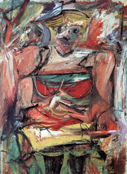 Willem de Kooning, Woman V, 1952-53