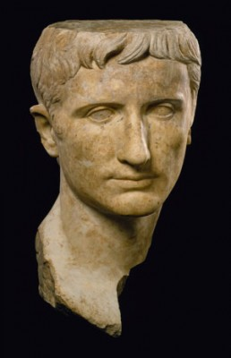 A portrait of Augustus