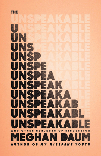 The-Unspeakable book jacket