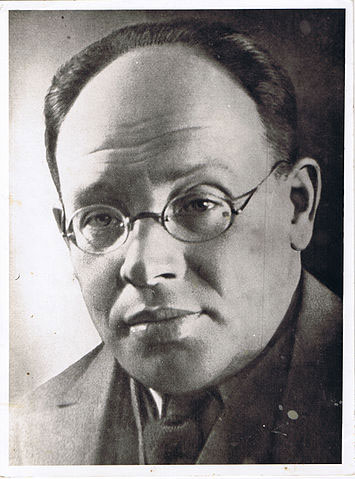 Isaac Babel in the 1920's.