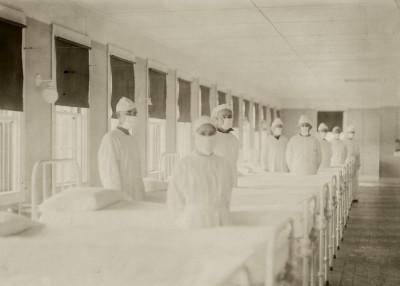FLU, 1917 by Elizabeth Frankie Rollins