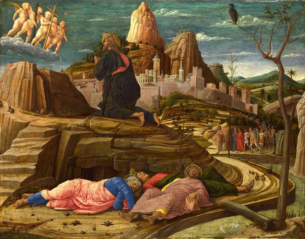 Agony in the Garden by Andrea Mantegna (1431–1506)