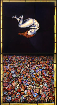 The Birth of Eve, 57″ x 31″, 2013