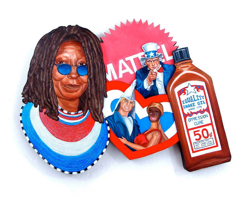 Peter Adamyan, Blackface Barbie Minstrel Show (illustration)