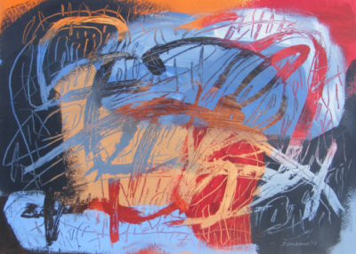 COLOR OUT LOUD: Paintings by Chilean Artist Jacqueline Unanue