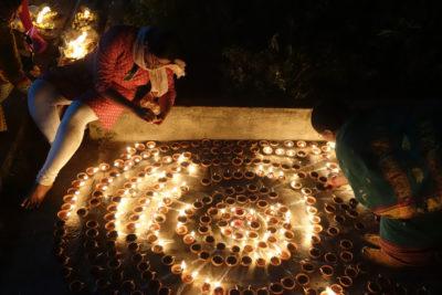 WAITING FOR THE FESTIVAL OF LIGHTS by Mohineet Kaur Boparai