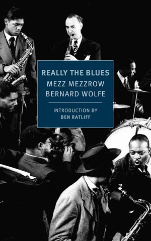 Really the Blues book jacket; historical jazz musicians