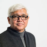Headshot of Amitav Ghosh