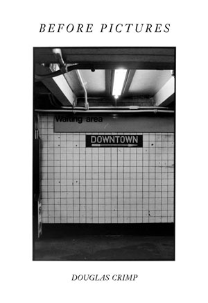 Before Pictures book jacket; Subway signs and wall