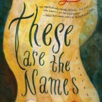 THESE ARE THE NAMES, a novel by Tommy Wieringa reviewed by Robert Sorrell