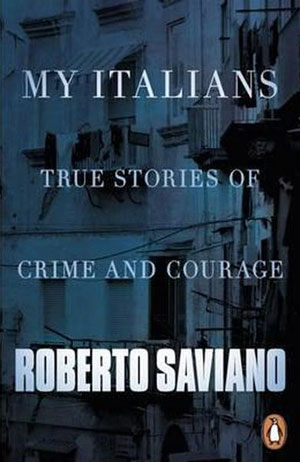 My Italians book jacket; balconies at night
