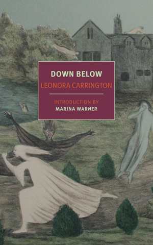 Down Below Book Jacket; three figures dancing