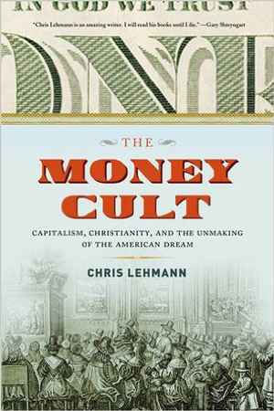 The Money Cult book jacket; historical congregation