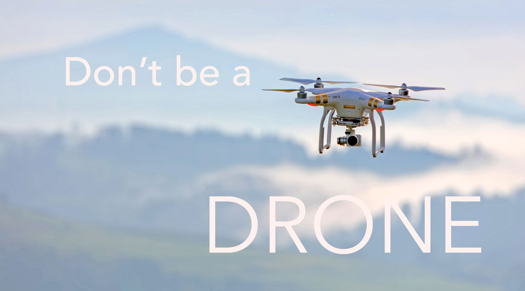 DON'T BE A DRONE: Manipulating the Reader Through Pitch and Pace, A Poetry Craft Essay by Grant Clauser