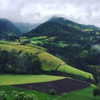WHILE I WAITED: Traveling in Colombia and Ecuador, an essay by Sean James Mackenney