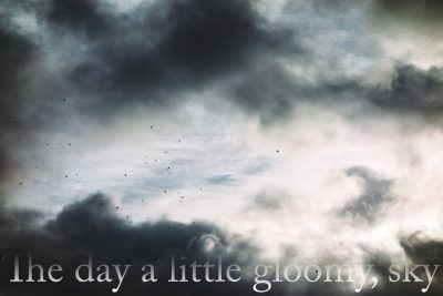 THE DAY A LITTLE GLOOMY, SKY by J.C. Todd