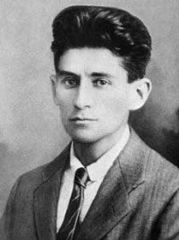 Franz Kafka author photo