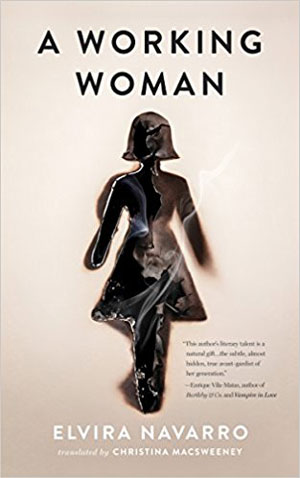 A Working Woman cover art. A black figurine of a faceless woman