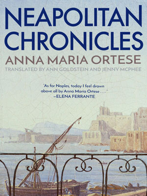 Neapolitan Chronicles cover art. The view of a harbor from a bridge