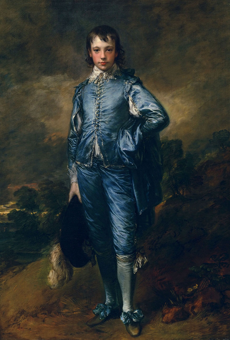The Blue Boy, Painting by Thomas Gainsborough, 1770