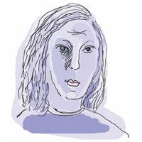 Sketch of Emily Steinberg