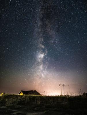 Billings, Montana at night