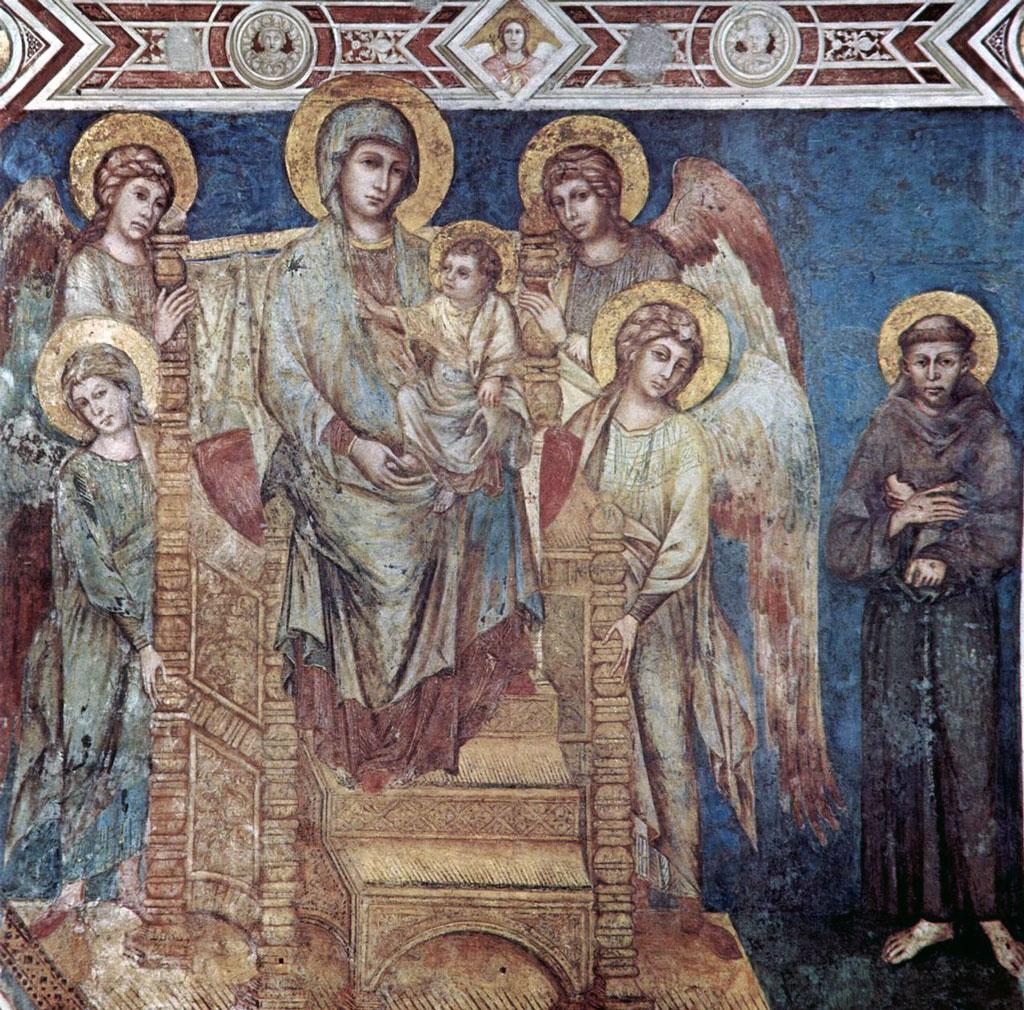 Cimabue 108 fresco painting