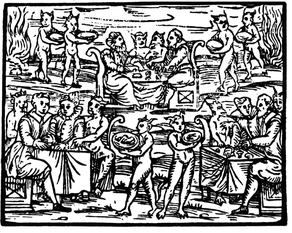 "Image from Malleus Maleficarum, or the ""Hammer of the Witches"""