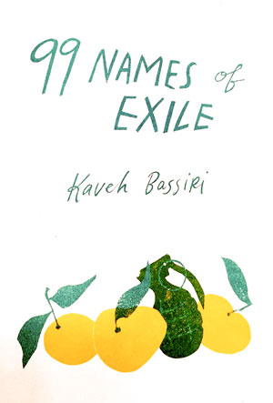 Jacket cover 99 Names of Exile