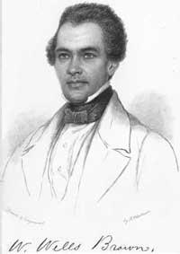 William Wells Brown portrait, courtesy of Wikipedia