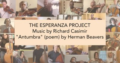THE ESPERANZA PROJECT: A Collaboration of Sound and Words