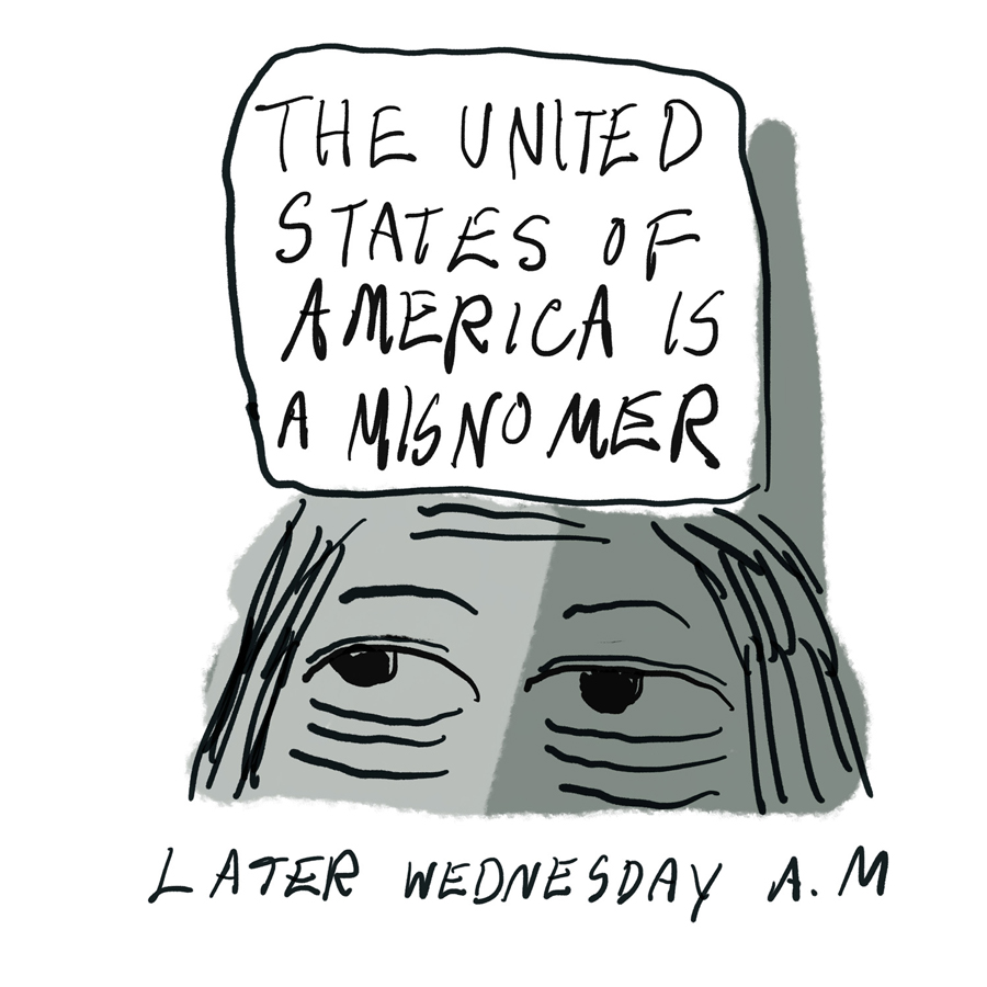The United States of America is a Misomer