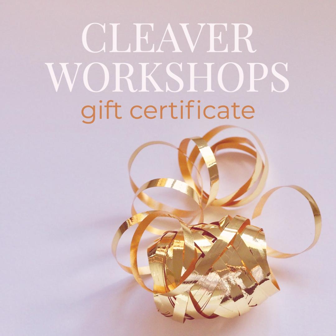 Gift Certificate ribbon