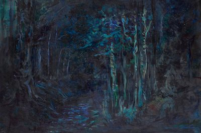 HEAVY BREATHING IN NIGHT: Paintings by Morgan Motes